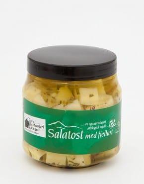 Salatost med fjellurt