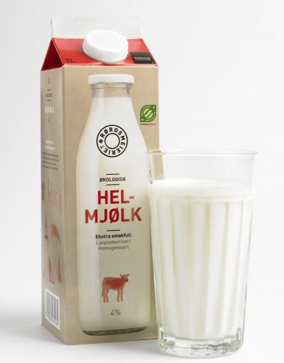 Helmjølk fra Rørosmeieriet