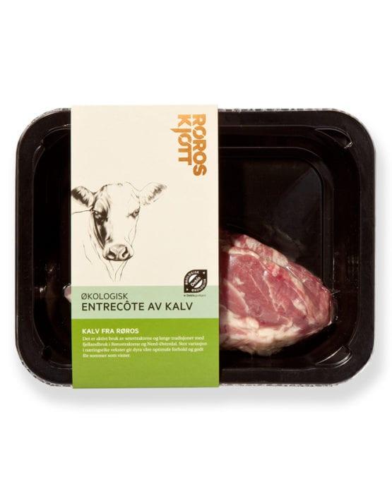 Entrecote av kalv fra Røroskjøtt