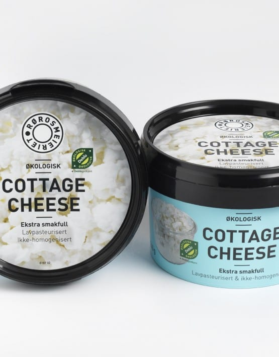 Økologisk Cottage Cheese fra Rørosmeieriet