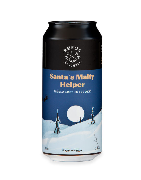 Santas malty helper bokkøl